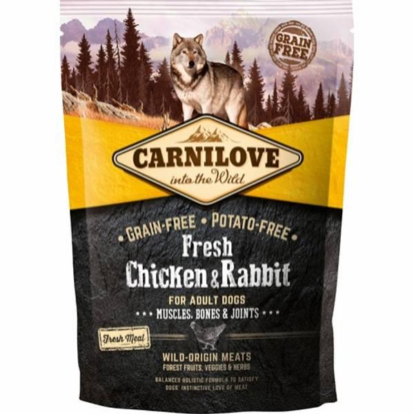 Bilde av Carnilove kylling & kanin for voksen hund 1,5KG